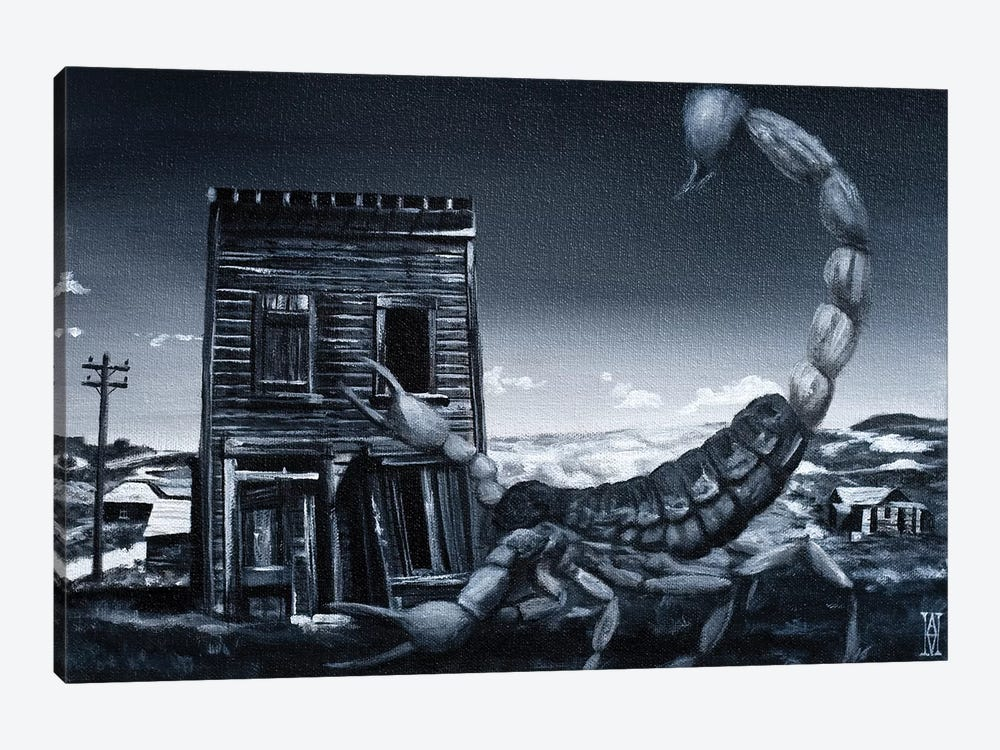 Eve Of The Scorpion by Alec Huxley 1-piece Art Print