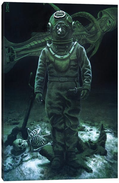 Captain Nemo Canvas Art Print