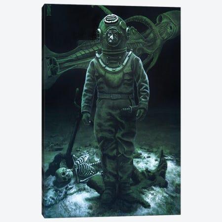 Captain Nemo Canvas Print #AHU82} by Alec Huxley Canvas Print