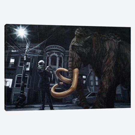 Mind Your Business Canvas Print #AHU88} by Alec Huxley Art Print