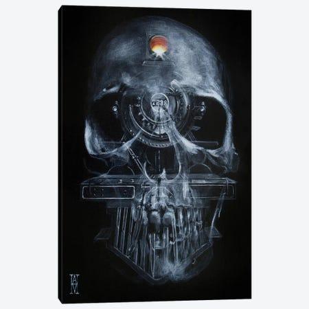 Railhead Canvas Print #AHU93} by Alec Huxley Canvas Art