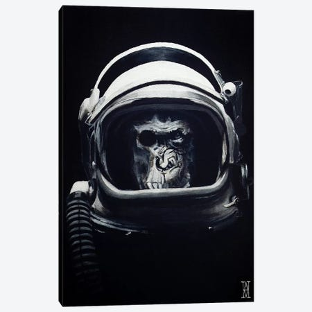 Starship Trooper Canvas Print #AHU95} by Alec Huxley Canvas Print