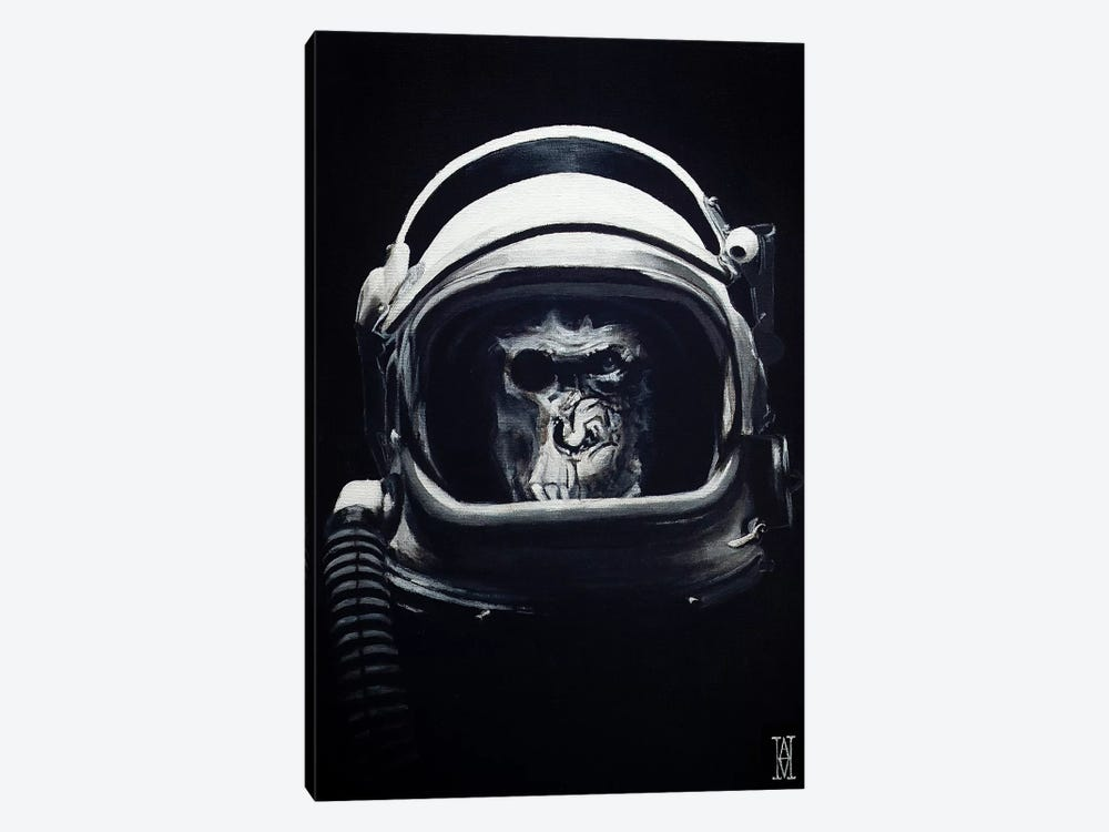 Starship Trooper by Alec Huxley 1-piece Canvas Artwork