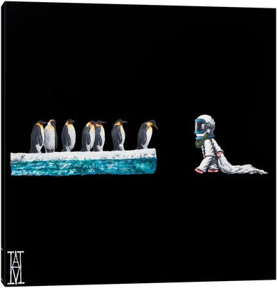 Nocturnal Encounters XVI Canvas Art Print
