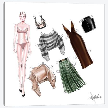 Fashion Game Canvas Print #AHV12} by AhVero Canvas Print