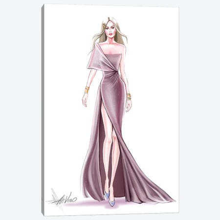 Pink Couture Canvas Print #AHV20} by AhVero Canvas Art