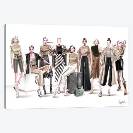 Ready To Wear Group Canvas Print #AHV21} by AhVero Canvas Artwork