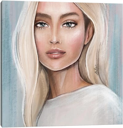 Blonde Canvas Art Print
