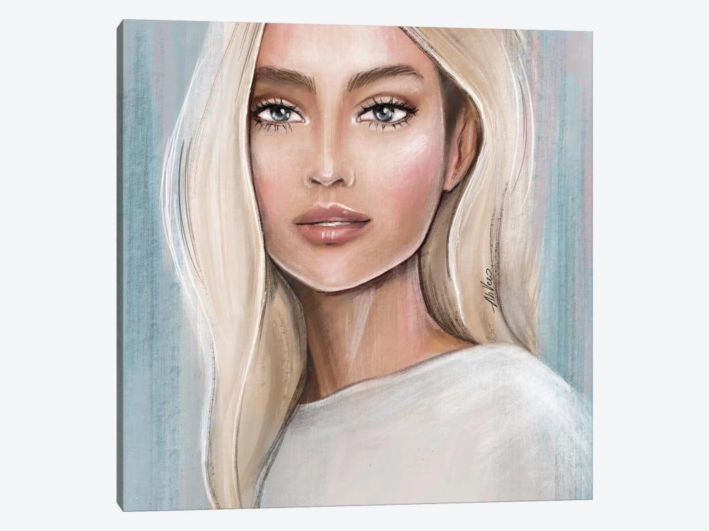 Blonde by AhVero 1-piece Canvas Wall Art