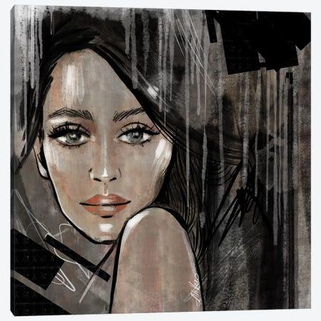 Dark Canvas Print #AHV34} by AhVero Canvas Wall Art