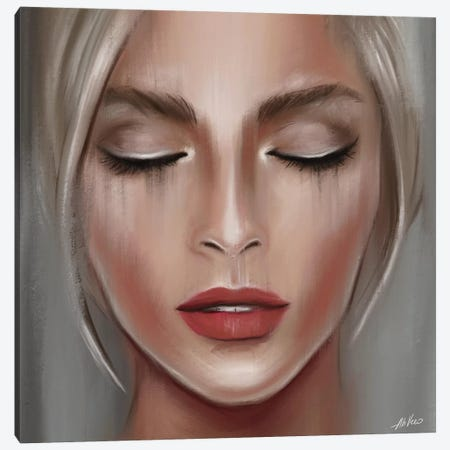 Pictorial Art Canvas Print #AHV36} by AhVero Canvas Art