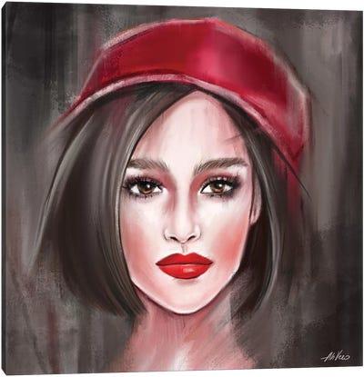 Red Hat Canvas Art Print