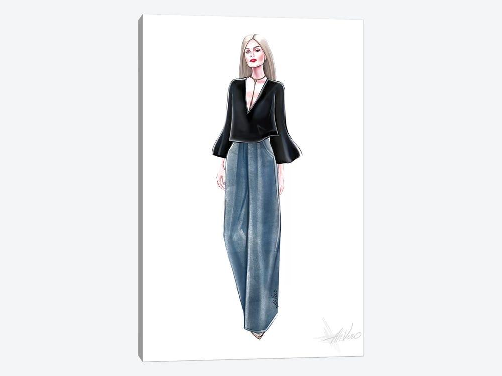 Blue Jeans by AhVero 1-piece Canvas Wall Art