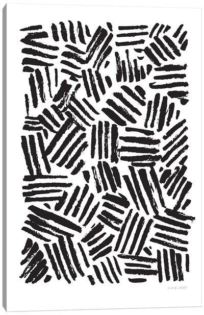 Crosshatch Canvas Art Print