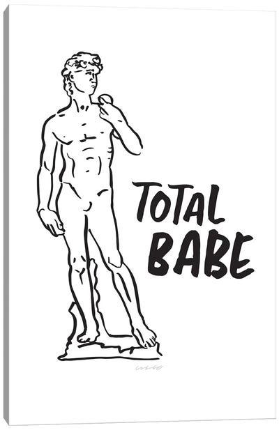 David - Total Babe Canvas Art Print