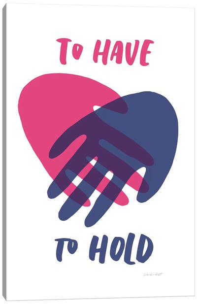 Have Hold Canvas Art Print