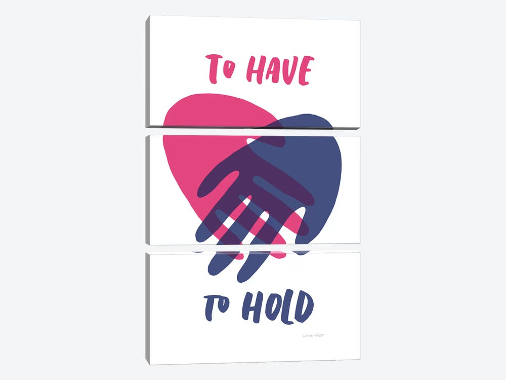 Have Hold by And Here We Are 3-piece Art Print