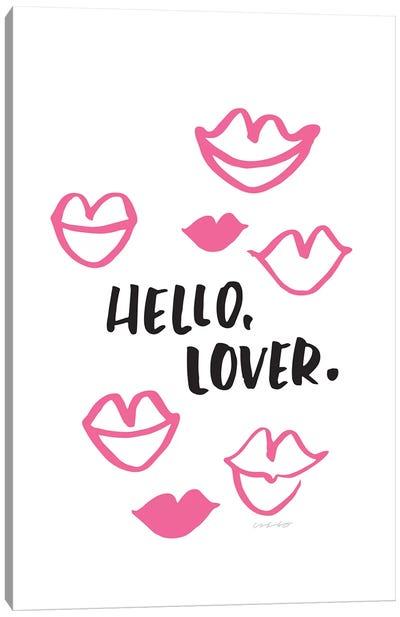 Hello Lover Canvas Art Print