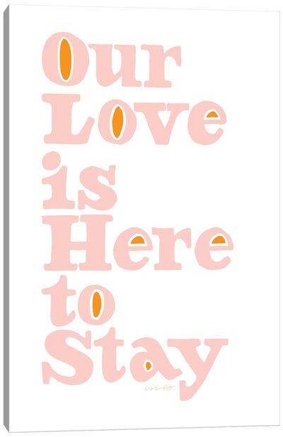 Our Love Canvas Art Print