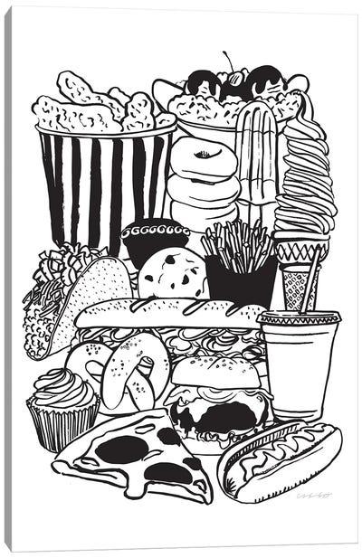 Snacks Canvas Art Print