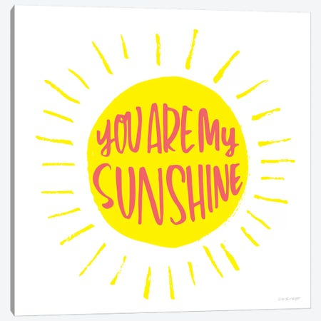 Sunshine Canvas Print #AHW44} by And Here We Are Canvas Art