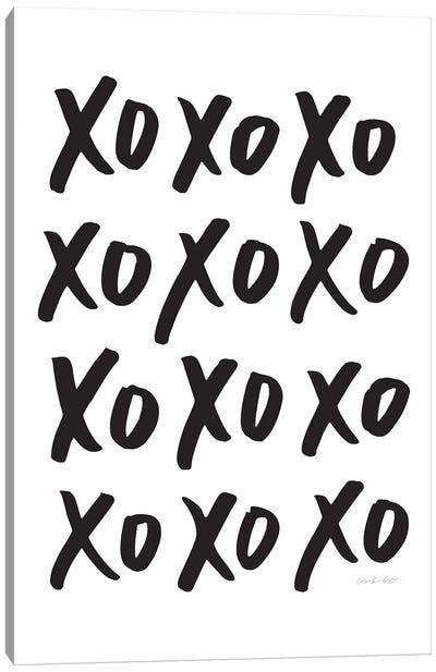 XO Canvas Art Print