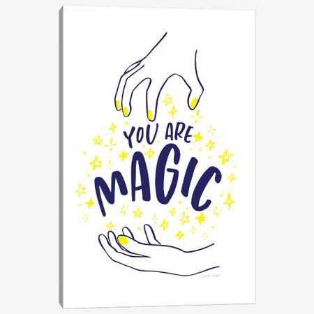 You Are Magic Canvas Print #AHW49} by And Here We Are Canvas Print