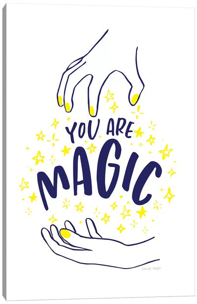 You Are Magic Canvas Art Print