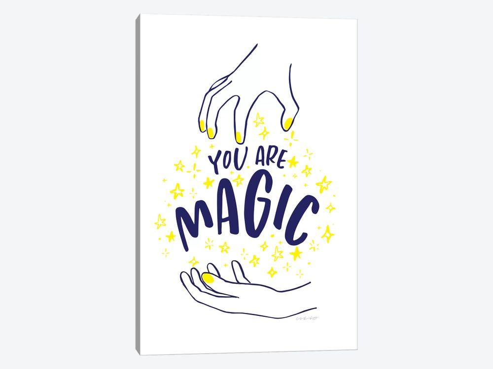 You Are Magic by And Here We Are 1-piece Canvas Art