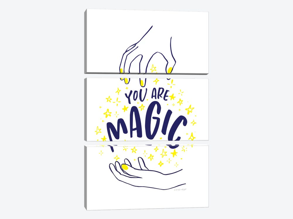 You Are Magic by And Here We Are 3-piece Canvas Artwork
