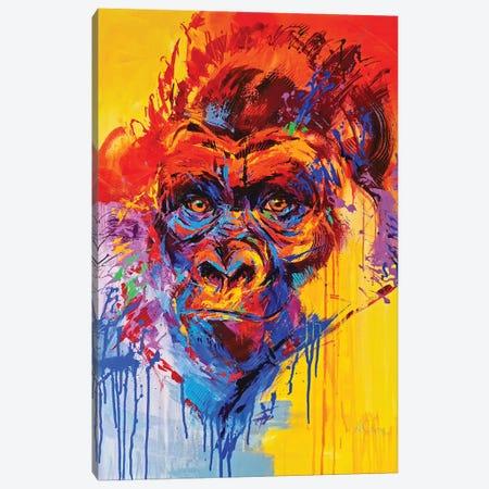 Gorilla Canvas Print #AHZ20} by Anna Cher Canvas Wall Art