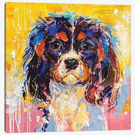 CKC Spaniel I Canvas Print #AHZ30} by Anna Cher Canvas Print