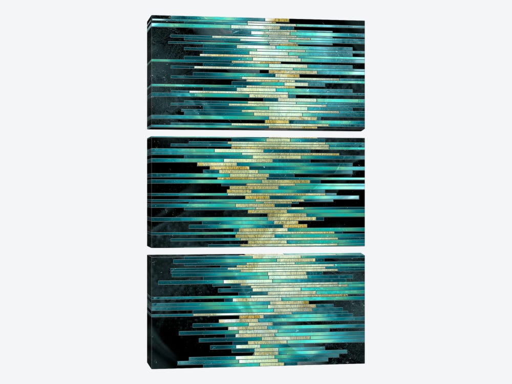 Spirit With Mechanism by 5by5collective 3-piece Canvas Artwork