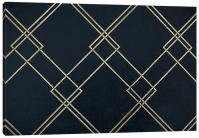 Intersecting Range Canvas Art Print
