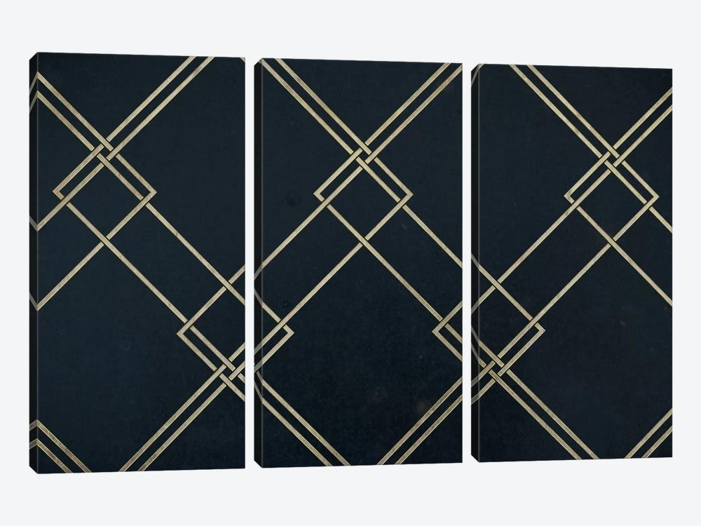 Intersecting Range by 5by5collective 3-piece Canvas Art Print