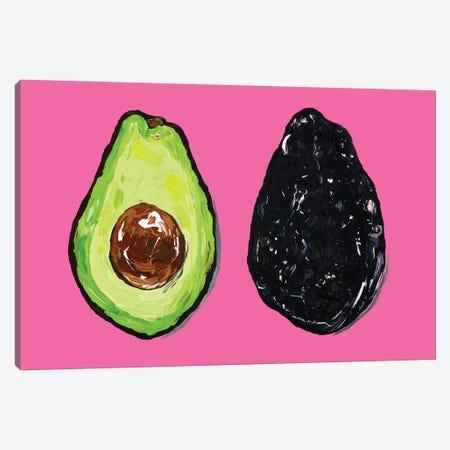 Avocados Canvas Print #AIE5} by Alice Straker Art Print