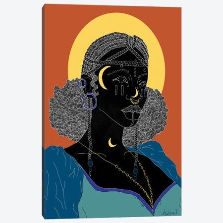 My Crown - Brown Canvas Print #AIF30} by Aislinn Finnegan Canvas Wall Art