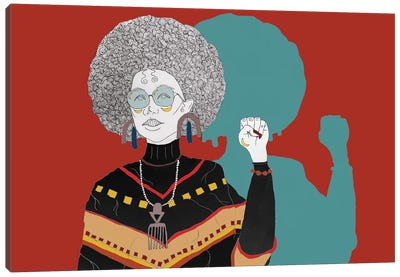 Power To Da People Canvas Art Print