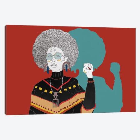 Power To Da People Canvas Print #AIF32} by Aislinn Finnegan Canvas Art
