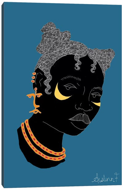 Bantu Knots I Canvas Art Print