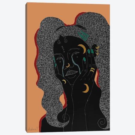 Blues - Beige Canvas Print #AIF8} by Aislinn Finnegan Canvas Print