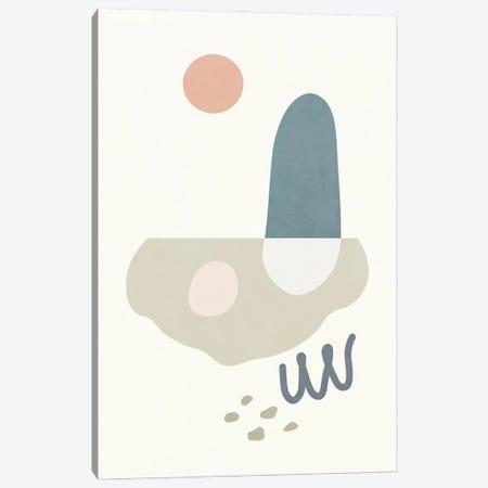 Island Shapes II Canvas Print #AII100} by amini54 Canvas Art