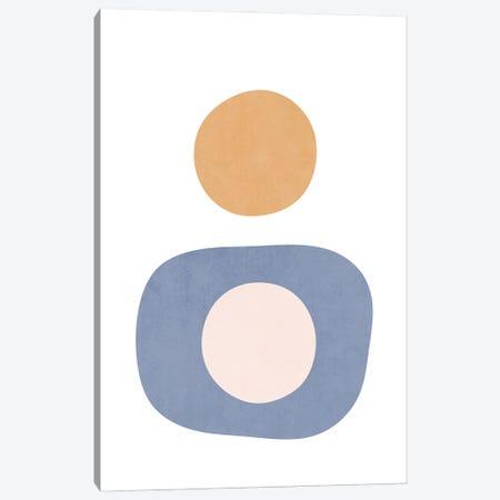 Sunset Shapes XVI Canvas Print #AII106} by amini54 Canvas Art Print