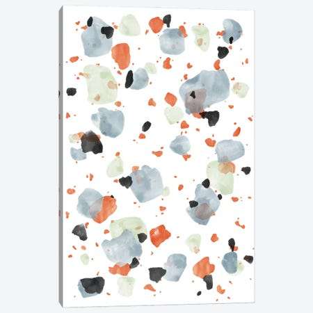 Abstract Brushstroke Pattern V Canvas Print #AII10} by amini54 Art Print
