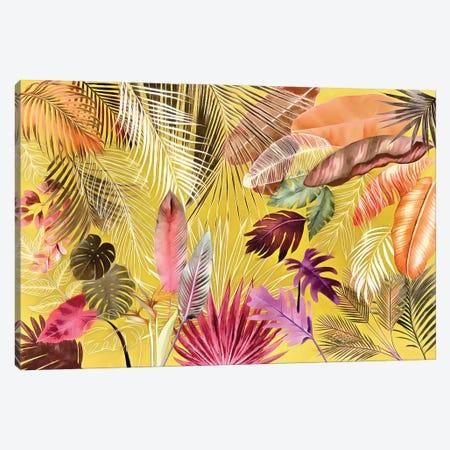 Tropical Foliage VII Canvas Print #AII126} by amini54 Canvas Print