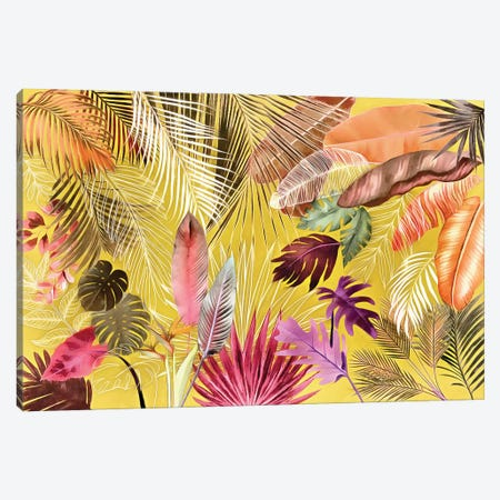 Tropical Foliage VII Canvas Print #AII126} by amini54 Canvas Print