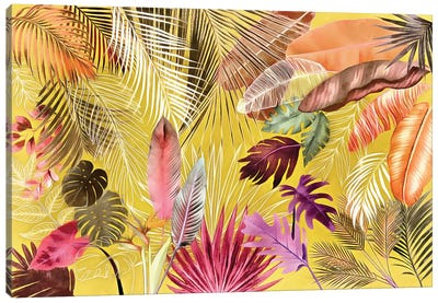 Tropical Foliage VII Canvas Art Print