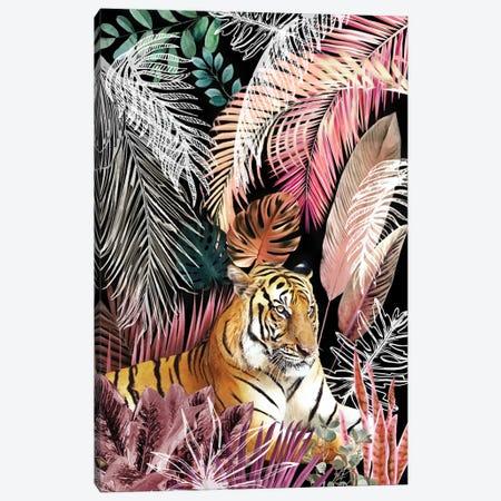 Jungle Tiger I Canvas Print #AII127} by amini54 Canvas Print