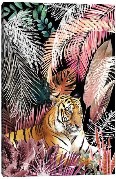Jungle Tiger I Canvas Art Print