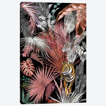 Jungle Tiger II Canvas Print #AII128} by amini54 Canvas Art